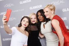 Pin for Later: Seht all' die Girl Power bei den Glamour Awards Eve Hewson, Elisabeth Moss, Uzo Aduba und Cecile Richards