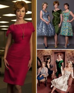 Mad Men is a style guide for classy, sexy outfits that are as elegant as they are sultry. #madmen #fashion