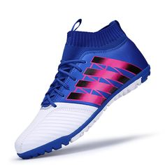 f6a6a7d0be65aa Get High Ankle Football Boots Superfly Original Indoor Soccer Shoes Kids  Men Sneakers chaussure de foot voetbalschoenen met sok