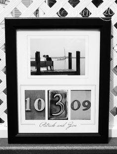 Personalized Wedding GUEST BOOK Alphabet Art by Element120photos
