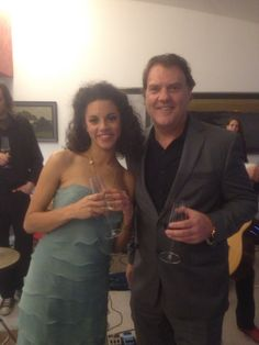 Sang Roxanne with super star opera singer Bryn Terfel at Lord Mervin Davies event for patrons of the Royal Academy...