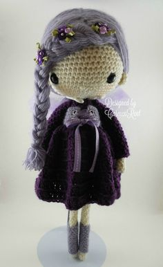 Fairy Lola 17Amigurumi Doll Crochet Pattern