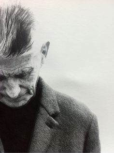 Poets are the sense, philosophers the intelligence of humanity • Samuel Beckett  • Photo: Richard Avedon