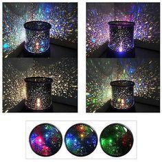 Sky Star Master Night Light Projector Lamp LED Holiday in box for sale online Night Light Projector, Projector Lamp, Star Night Light, Stars At Night, Cosmos, Galaxy Bedroom, Star Laser, Bedroom Night, Kids Bedroom