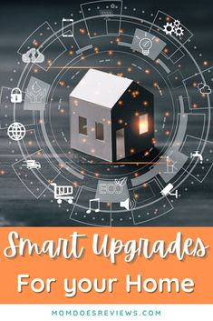 Smart Upgrades You Can Make Around Your Home Smart Home Technology, Communication System, Repurposed Items, Washing Dishes, Modern Interior Design, Getting Old, Landline Phone, Home And Living, Improve Yourself
