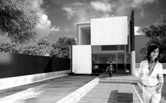 Dům v zahradě - Ing. Arch. Petr Davídek, autorizovaný architekt
