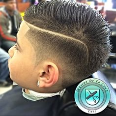 vintage comb over with part and taper | Kids Comb Over Hairstyle Fade Comb Over Haircut With Line