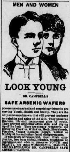 Dr. Campbell's Safe Arsenic Wafers
