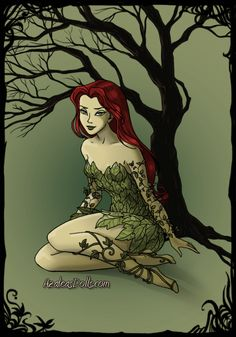 Poison Ivy inspired by Arkham Asylum and comics! Poison Ivy 2, Poison Ivy Dc Comics, Poison Ivy Batman, Mickey Mouse Costume, Poison Ivy Costumes, Native American History, American Indians, Moon Tapestry, Harley Quinn Cosplay
