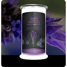 Be whisked away to the rugged hills of Provence and accept your luxurious invitation to well-being with this soft and soothing scent. Lavender candles with jewelry. Full size 21oz jewelry candle - 100% all natural Soy candle burns for 100 to 150 hours. Jewelry in every candle. Looking for candles with jewelry? Try Jewelry In Candles, jewelry hidden inside every candle!