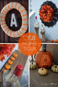 10 Inspiring DIY Fall / Autumn Decor Ideas! #diy #fall #autumn #decor