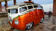 Extremely Modified and Customized VW Samba Bus | VW Bus