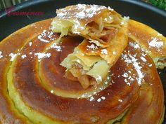 Sladký jablkový börek z panvice (fotorecept) - obrázok 8