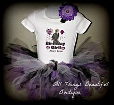 Justin Bieber inspired Tutu Birthday Outfit by AllThingsGrand, $37.99