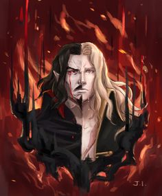 Castlevania Dracula, Alucard Castlevania, Castlevania Netflix, Castlevania Lord Of Shadow, Anime Guys, Manga Anime, Anime Art, Castlevania Wallpaper, Lord Of Shadows