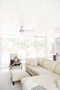 Bright and white! -- house crush: modern eichler