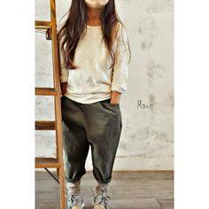sarouel cargo pants / khaki - Lhotse