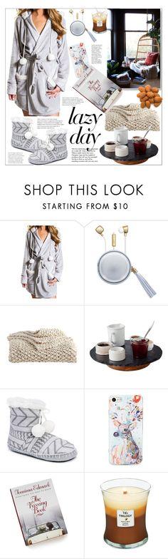 """""""Sleep In: Lazy Day"""" by natalyapril1976 ❤ liked on Polyvore featuring P.J. Salvage, The Macbeth Collection, Tiffany & Co., DKNY, Slated, Muk Luks and BP."""