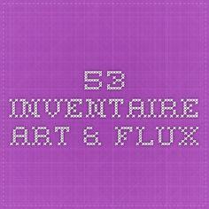 53. Inventaire - Art & Flux