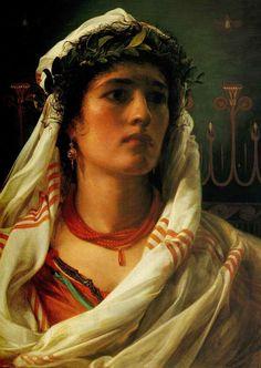 Judith by Frederick Sandys, circa 1860