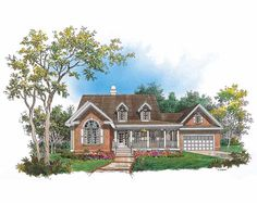 Eplans Country House Plan - Family-Friendly Design - 1788 Square Feet and 3 Bedrooms from Eplans - House Plan Code HWEPL08387