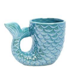 Love this Ceramic Mermaid Tail Mug