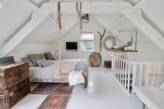 Gorgeous 40 cozy attic loft bedroom design & decor ideas https attic attic bedroom layouts decorating attic bedrooms