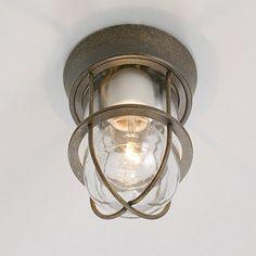 レトロデザイン古色仕上げ真鍮灯 ログハウス、和風にも合う cottage style