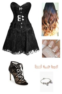 """Untitled #777"" by catrinel-grigorescu on Polyvore featuring Pour La Victoire, New Look and Pandora"