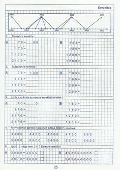 Gyere mesélj! - Képgaléria - Sulis feladat lapok (alsó tagozat) - Kiszámoló 4. osztály Periodic Table, Bullet Journal, School, Periodic Table Chart, Periotic Table