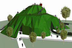 "MVRDV's proposed 2004 Serpentine Gallery Pavilion was ""a heroic failure""."