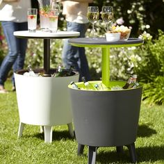 cooler/table. perfect for outdoor entertaining!