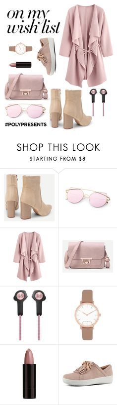 """#PolyPresents: Wish List"" by filippaelvira ❤ liked on Polyvore featuring Bang & Olufsen, Nine West, Serge Lutens, FitFlop, contestentry and polyPresents"