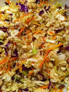 Hogs Ever After: World Traveler Wednesday: Crunchy Asian Slaw