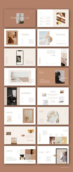 Sienna Presentation Template by Simple P.