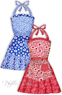 Free Patterns for Aprons and Quilts