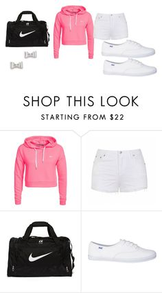 """""""rock it"""" by cturnley ❤ liked on Polyvore featuring beauty, Only Play, Ally Fashion, NIKE and Marc by Marc Jacobs"""