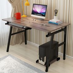 Fashion Office Desktop Home Computer Desk Simple Modern Laptop Desk Computer Table Study Writing Office Table
