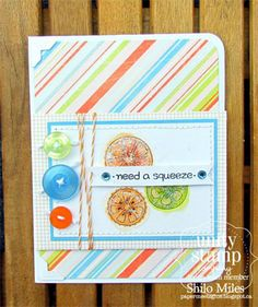 Need a Squeeze - Unity Stamp Co - Stamp of the week