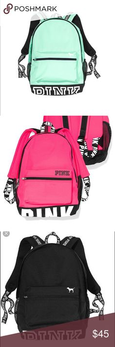 ISO vs PINK campus backpack Also looking for the ID holder d968b6c918ef3