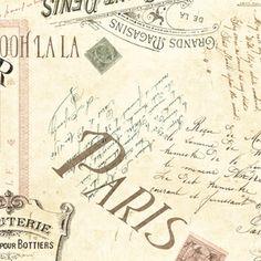 Jo Moulton - Ooh La La - Carte Postale in Creme