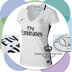 Acheter Des Nouveau maillot PSG 2017 femme troisième foot boutique