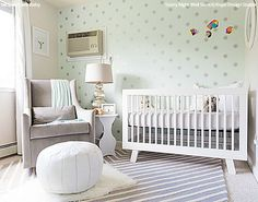 22 Nursery Makeovers With Wall Stencils Colorful Diy Decor Projects
