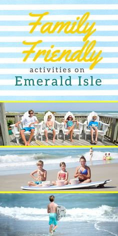 Find the best activities on Emerald Isle for your next family vacation to the beach! Emerald Isle offers paddleboarding, kayaking, scuba diving, biking and more!
