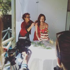 #tbt to behind the scenes of your new issue cover shoot. A #fun #fact, our amazing cover model and hostess with the mostest, @racheleramsay is also deputy editor of our sister #magazine @newzealandweddingsmagazine