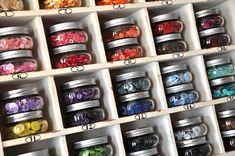 Button Storage idea from Dawn McVey for Studio Calico