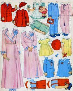 Las Recortables de Veva e Isabel: All Size Dolls