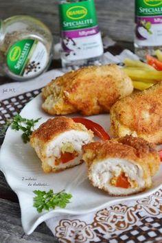 Pyszne roladki z kurczaka - Obiad kurczak,obiad,roladki - kobieceinspiracje.pl