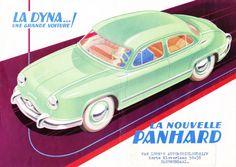 Panhard Dyna brochure - 1954