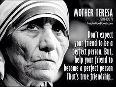 Blessed Mother Teresa  I feel like I learn something from her everyday.